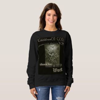 Children of God Long Sleeve Ladies Sweatshirt