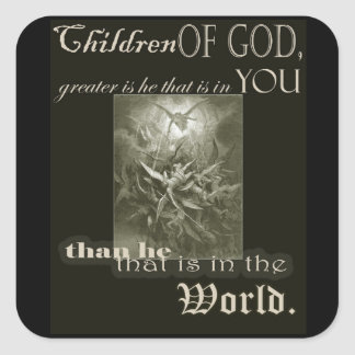 Children of God Square Sticker