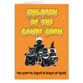 Children of the Candy Corn Card