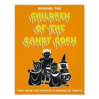 Children of the Candy Corn Print