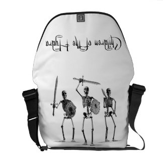 'Children of the Hydra' Skeleton Courier Bag