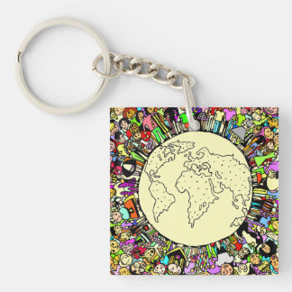 Children of the World Acrylic Keychains