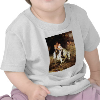 Children on a Horse painting T-shirt