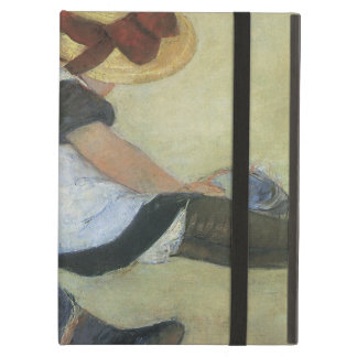 Children Playing on the Beach by Mary Cassatt Case For iPad Air
