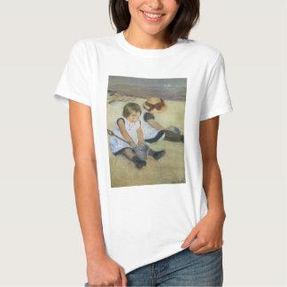 Children Playing on the Beach by Mary Cassatt Shirt