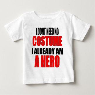 children protection costume hero job iamalreadyahe baby T-Shirt
