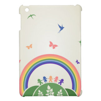 Children rainbow iPad mini covers