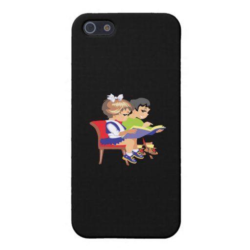 Children Reading 2 iPhone 5/5S Cover