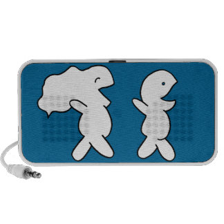 Children running iPhone speakers