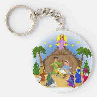 Children s Nativity mug key chain necklace phone