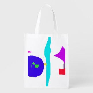 Children's Space Reusable Grocery Bag