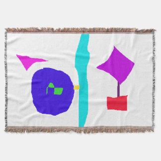 Children's Space Throw Blanket