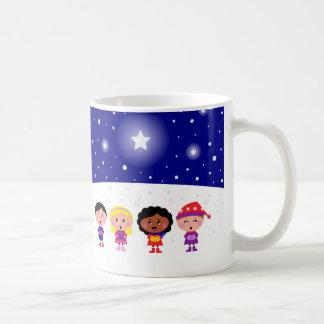 Children Singing Christmas Carols Classic Mug