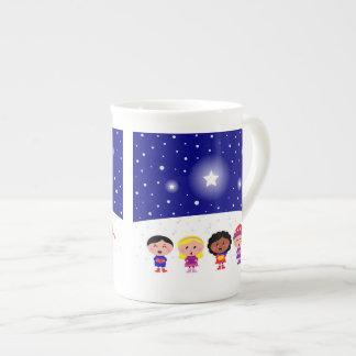 Children Singing Christmas Carols Mug
