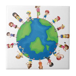 Children Tile