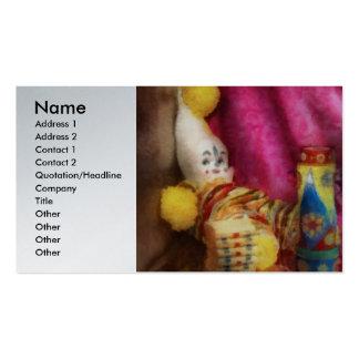 Children - Toy - Earliest childhood memories Business Card