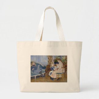 Children's Afternoon at Wargemont 1884 by Renoir Canvas Bags
