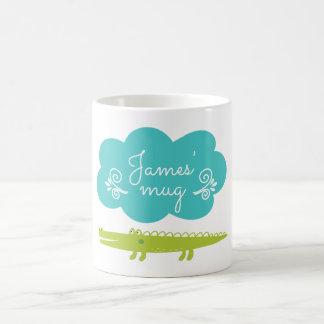Children's Alligator Personalized Mug