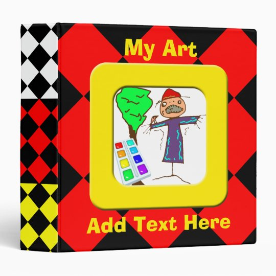 Childrens Art Avery Binder