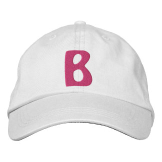 "Childrens ""B"" Embroidered Hat"
