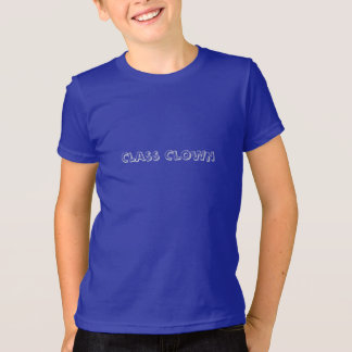 Children's Back to School Tee Shirt: Class Clown