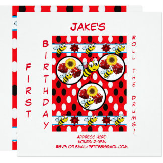 childrens birthday invitation cards