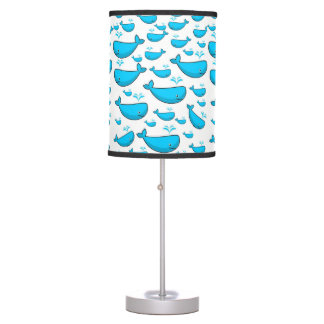 childrens blue whale decorative lamp