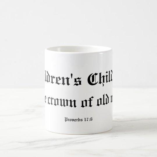 Children's children coffee mug