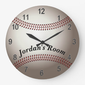 Children's Clock Baseball