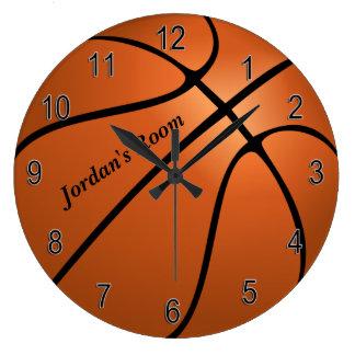 Children's Clock Basketball