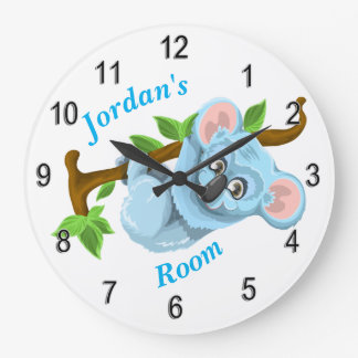 Children's Clock Cute Koala Bear