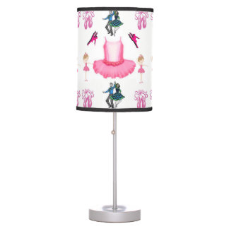 childrens dance white lamp shade