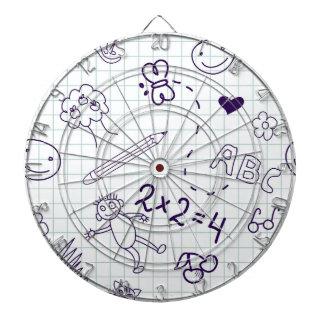 Children's Drawing Pattern Dartboard