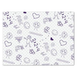 Children's Drawing Pattern Tissue Paper