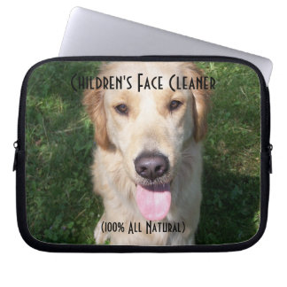 Children's Face Cleaner Laptop Computer Sleeves