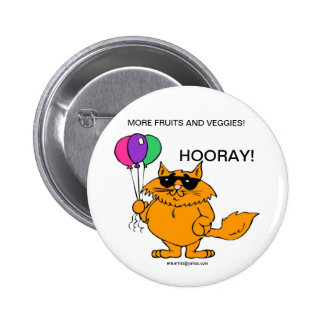 CHILDRENS HEALTH BUTTON - MORE FRUITS AND VEGGIES