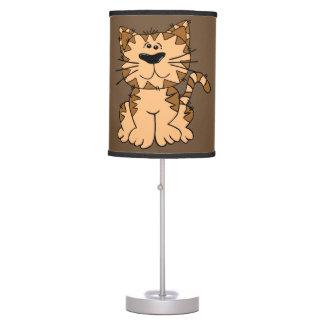Children's Lamp Cute Tabby Kitten