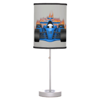 Children's Lamp Race Car Flames