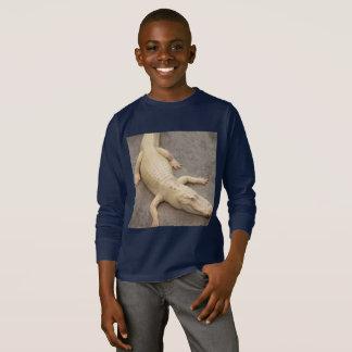 Children's long sleeve alligator shirt