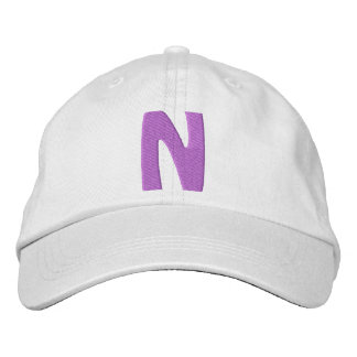 """Childrens """"N"""" Embroidered Hat"""