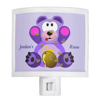 Children's Night Light Cute Teddy Bear