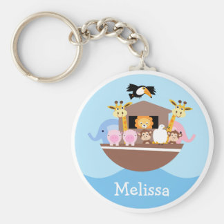 Children's Noah's Ark Key Ring