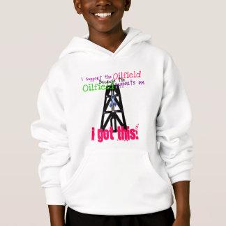 Children's Oilfield Support Hoodie