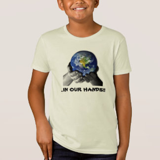 CHILDREN'S ORGANIC TEE SHIRT - EARTH HANDS