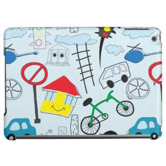 Children's Pattern - Euro Style Kids iPad Air Covers
