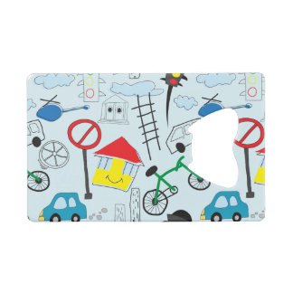 Children's Pattern - Euro Style Kids Wallet Bottle Opener