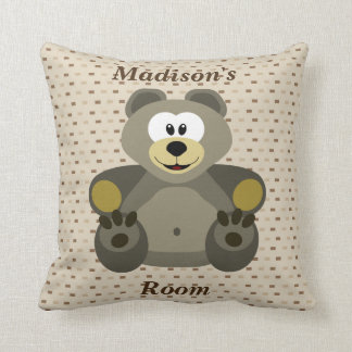Children's Pillow Cute Teddy Bear