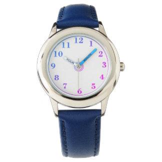 Children's_Pink_Blue_Numbers-II Watch