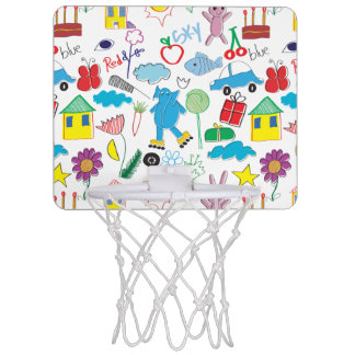 Children's Play Pattern - Elephant, Playtime Mini Basketball Hoop