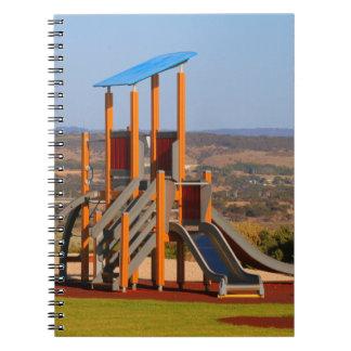 Children's playground notebook